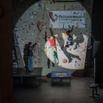Spektakuläre Klettershow mit Thomas Achermann und Solveig Korherr aus unserem Team.