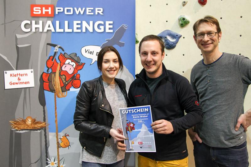 Kevin Weber Sieger SH Power Challenge 2016