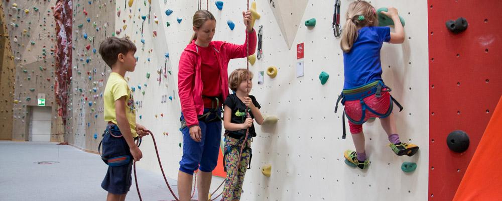 Kinderferienkurs Klettern Aranea+ Schaffhausen